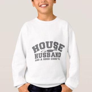 Haus-Ehemann und ein guter Koch auch Sweatshirt