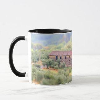Haus in der Toskana Tasse
