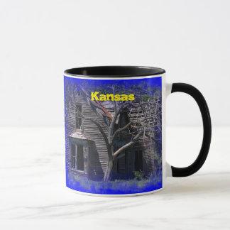 Haus-Kaffee-Tasse Kansas alte Tasse