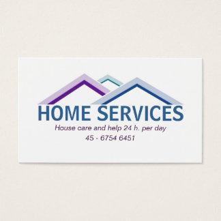 Haus-Visitenkarte Visitenkarten