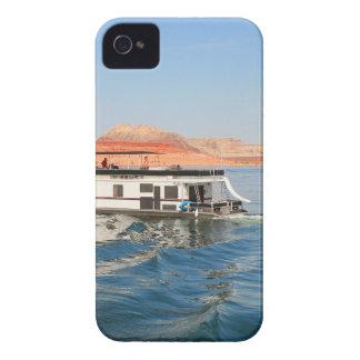 Hausboot, das Wellen, See Powell, Arizona macht iPhone 4 Hülle
