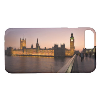 Häuser des Parlaments im London-Andenken-Foto iPhone 8/7 Hülle