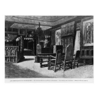 Häuser von Victor Hugo Postkarte