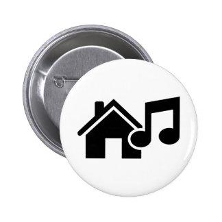 Hausmusikanmerkung Runder Button 5,1 Cm