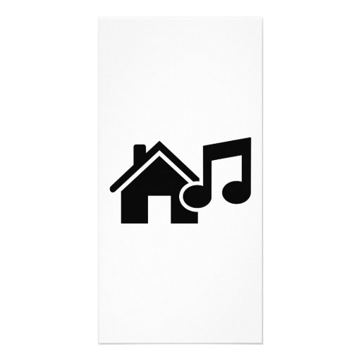 Hausmusikanmerkung Foto Karte