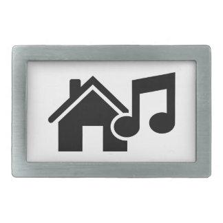 Hausmusikanmerkung Rechteckige Gürtelschnalle