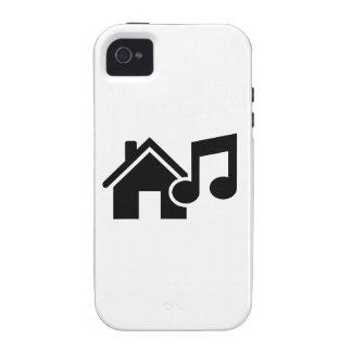 Hausmusikanmerkung iPhone 4/4S Hülle