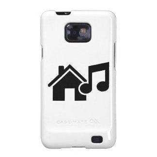 Hausmusikanmerkung Galaxy S2 Hülle