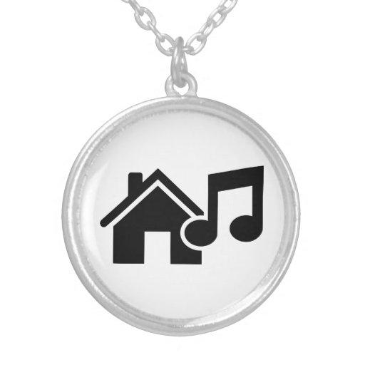 Hausmusikanmerkung Halskette