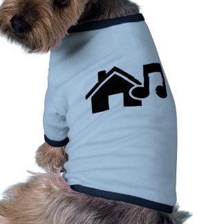 Hausmusikanmerkung Haustier T-shirts