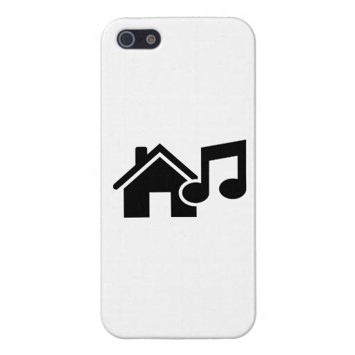 Hausmusikanmerkung iPhone 5 Etui