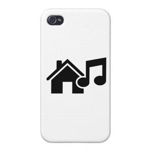 Hausmusikanmerkung iPhone 4 Cover