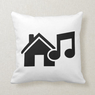 Hausmusikanmerkung Zierkissen