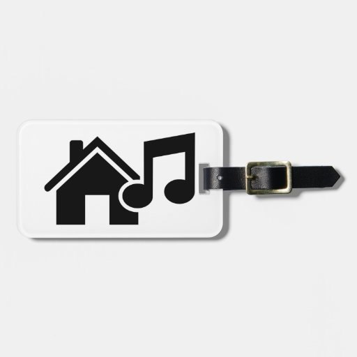Hausmusikanmerkung Gepäck Anhänger