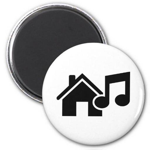 Hausmusikanmerkung Magnete