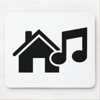 Hausmusikanmerkung Mauspads