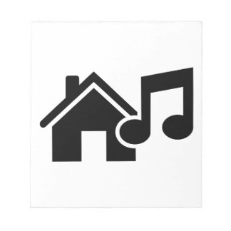 Hausmusikanmerkung Notiz Block