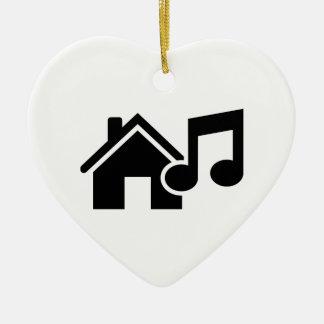Hausmusikanmerkung Weihnachtsbaum Ornament