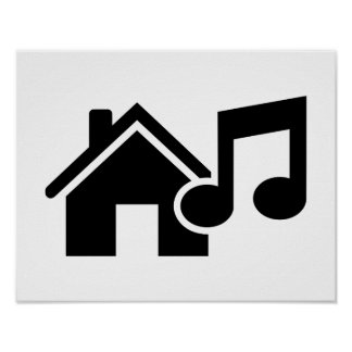 Hausmusikanmerkung Posterdruck