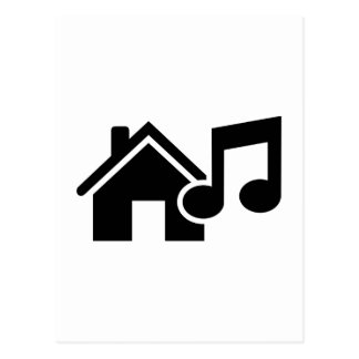 Hausmusikanmerkung Postkarten