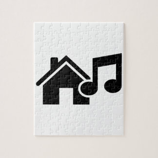 Hausmusikanmerkung Foto Puzzles