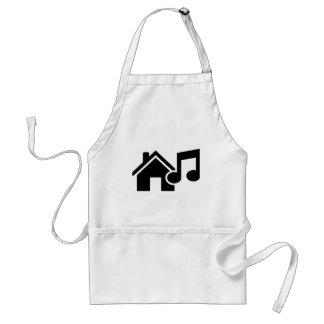 Hausmusikanmerkung Schürze