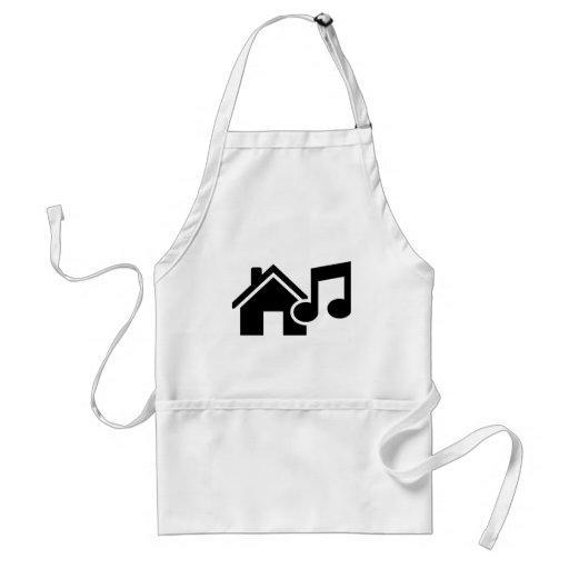 Hausmusikanmerkung Schürzen