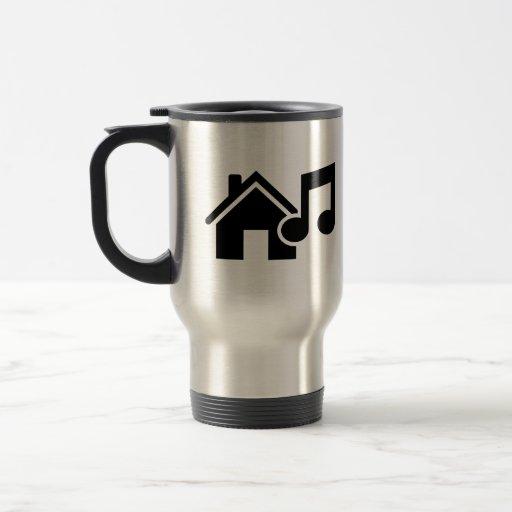 Hausmusikanmerkung Kaffeetassen
