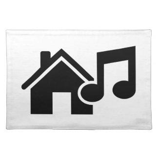 Hausmusikanmerkung Tisch Sets