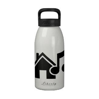 Hausmusikanmerkung Wiederverwendbare Wasserflasche