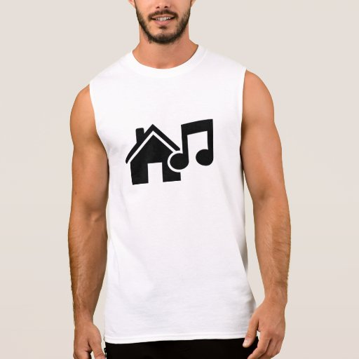 Hausmusikanmerkung Ärmelloses T-Shirt