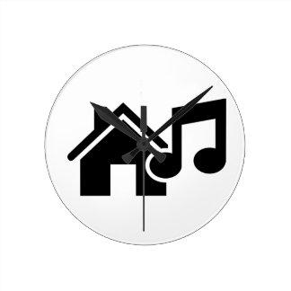 Hausmusikanmerkung Wanduhren