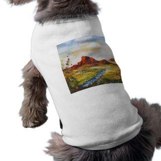 Haustier-Kleidung Ann Hayes, das roten Felsen Shirt