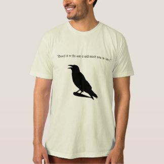Haustier-Raben-Gesellschaft T-Shirt