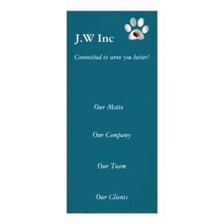 Haustierpflege Geschäfts-Gestell Karten
