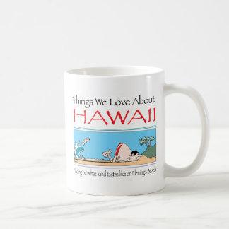 Hawaii durch Harrop-T-b Tasse