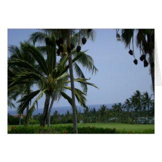 Hawaii-Golf Karte