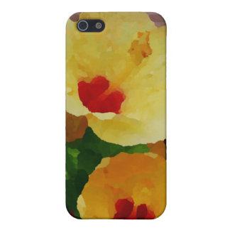 HAWAII-HIBISKUS-BLUMEN iPhone 5 HÜLLE