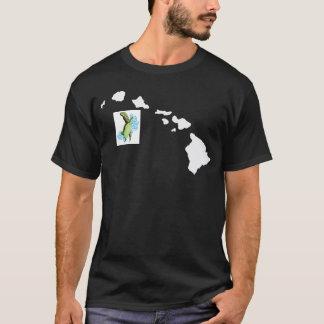 Hawaii-Inseln und Hawaii-Schildkröte T-Shirt