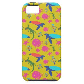 Hawaii-Schildkröte, Fisch, Geckofeier iPhone 5 Hülle