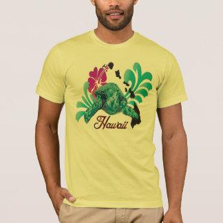 Hawaii-Schildkröte und Hawaii-Insel-Shirt T-Shirt