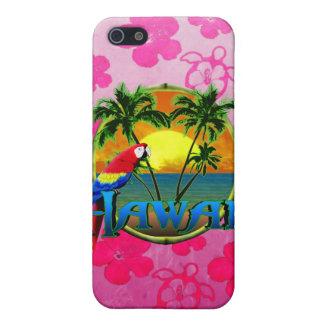 Hawaii-Sonnenuntergang-Rosa Honu iPhone 5 Etui