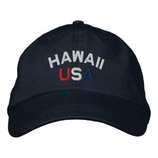 Hawaii USA stickte Marine-Blau-Hut Bestickte Caps
