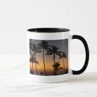 Hawaiischer Sonnenuntergang Tasse