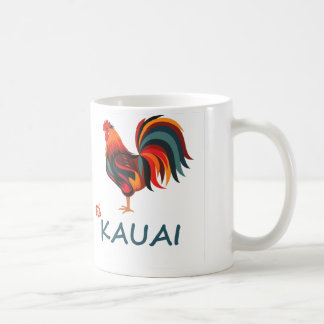 Hawaiischer wilder Hahn Kauais Kaffeetasse