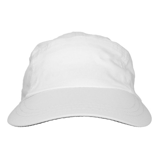 Custom Gewebt Performance Hat, Weiß