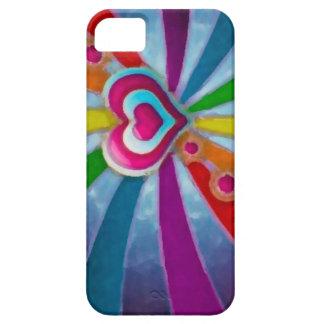 Heart pink_L huile_iphone5 iPhone 5 Schutzhülle