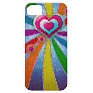 Heart pink_L huile _iphone 5 Hülle Fürs iPhone 5
