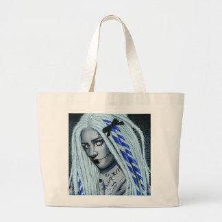 Heftige gotische Ragdoll Kunst-Taschen-Tasche Jumbo Stoffbeutel
