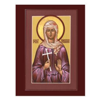 Heilig-Valentina-Gebets-Karte Postkarte